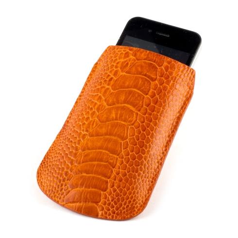 Модный чехол для iPhone из страусиной кожи от Quarro, арт. AO-010