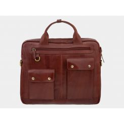 Мужская сумка Alexander TS PF0019 Cognac