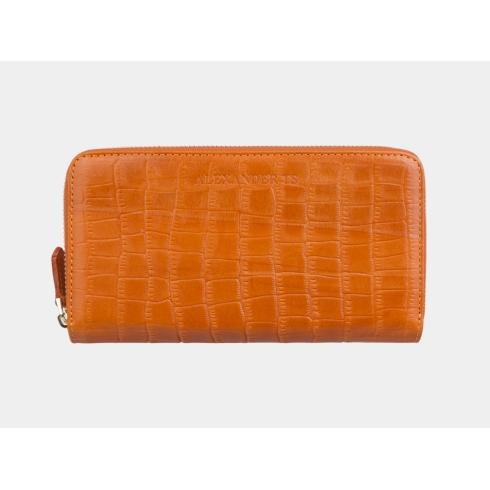 Портмоне Alexander TS PR0014 Orange Croco