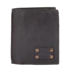 Мужское портмоне из натуральной кожи темно-коричневого цвета от Ashwood Leather, арт. 1779 Brown