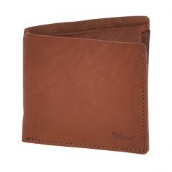 Практичное мужское портмоне орехового цвета из натуральной кожи от Ashwood Leather, арт. 1882 Chestnut