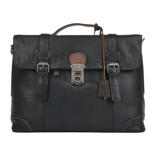 Сумка Ashwood Leather 4554 Black