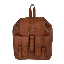 Стильный мужской рюкзак из натуральной кожи светло-коричневого цвета от Ashwood Leather, арт. 7990 Rust