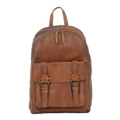 Модный мужской кожаный рюкзак из натуральной кожи рыжего цвета от Ashwood Leather, арт. 7999 Rust