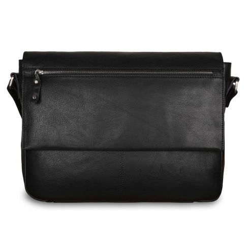 Сумка Ashwood Leather Baker Black