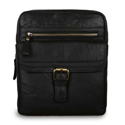 Сумка Ashwood Leather G-33 Black