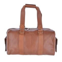 Мужская дорожная сумка из натуральной кожи, модель с длинными ручками от Ashwood Leather, арт. Humphrey Honey