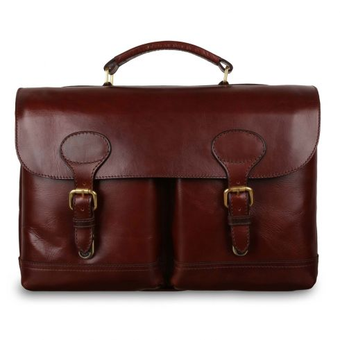 Портфель Ashwood Leather Jon Brandy