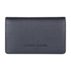 Кожаный чехол для разных пластиковых карт, дополненный кармашками от Avanzo Daziaro, арт. 018 201303