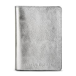 Стильная обложка для паспорта из натуральной кожи металлизированного оттенка от Avanzo Daziaro, арт. 018 1019S06