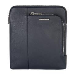 Мужская сумка планшет из натуральной кожи темного синего оттенка от Avanzo Daziaro, арт. 018-021303