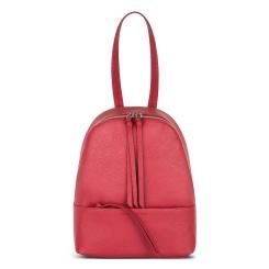 Красный женский рюкзак, выполненный из качественной натуральной кожи от Avanzo Daziaro, арт. 018-101344