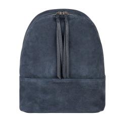 Стильный женский рюкзак из натуральной кожи и замши синего цвета от Avanzo Daziaro, арт. 018-1013Z3