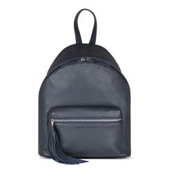 Женский городской рюкзак округлой формы, выполненный из натуральной кожи от Avanzo Daziaro, арт. 018 103203