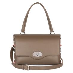 Стильная женская сумка из бежевой натуральной кожи от Avanzo Daziaro, арт. 018-104255