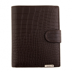 Мужское портмоне Barkli 00015-9 coffee Br