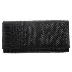 Женский кошелек Barkli 2010C-A279-B black Br