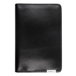 Обложка для документов и пластиковых карт из натуральной кожи от Barkli, арт. 00019-5 black Br