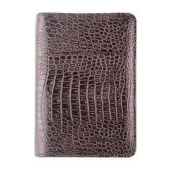 Обложка для документов, выполненная из натуральной кожи от Barkli, арт. 00019-A387 coffee Br