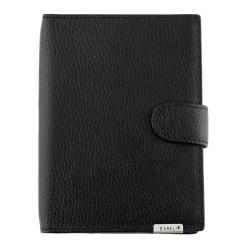 Кожаная обложка для документов и пластиковых карт от Barkli, арт. 00027-3 black Br