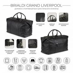 Сумка Brialdi Grand Liverpool relief black