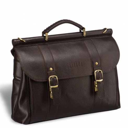 Портфель Brialdi Hobart relief brown