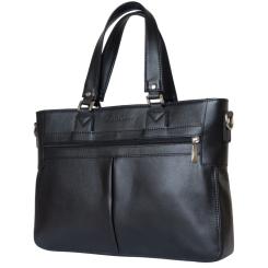 Удобная мужская деловая сумка для документов из натуральной кожи от Carlo Gattini, арт. 1013-01