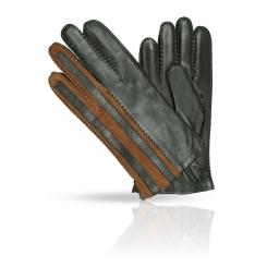 Мужские кожаные перчатки с шерстяной подкладкой, модель коричневого цвета от Dali Exclusive, арт. 100_ARSON/BR//11
