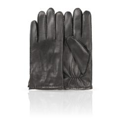 Мужские перчатки из натуральной кожи ягненка в классическом стиле от Dali Exclusive, арт. 100_ATHOS/BL