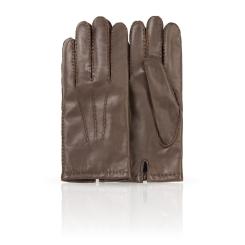 Мужские перчатки из натуральной кожи ягненка с шерстяной подкладкой от Dali Exclusive, арт. 100_BERLIN/GORJ//11