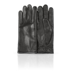 Мужские перчатки из натуральной кожи ягненка черного цвета от Dali Exclusive, арт. 100_METEOR/BL//11