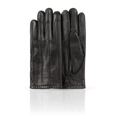 Мужские перчатки из натуральной кожи ягненка с красивой прошивкой от Dali Exclusive, арт. 100_PETRUS/BL