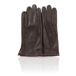 Мужские перчатки из натуральной кожи ягненка с продольной прошивкой от Dali Exclusive, арт. 11_METEOR/BR//11