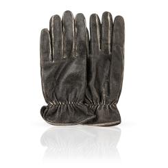 Мужские перчатки из натуральной кожи ягненка темно-серого цвета от Dali Exclusive, арт. WILD/MEL