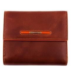 Кожаный мужской кошелек, коричневого цвета, со съемной обложкой от Dor. Flinger, арт. 0034-12-625A brown DF