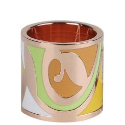 Роскошный и модный зажим-кольцо для платков и палантинов от Eleganzza, арт. R361 Enamel yellow