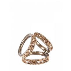Зажим для платков из металла золотистого цвета от Eleganzza, арт. R534 gold