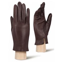 Мужские перчатки из натуральной кожи ягненка коричневого цвета от Eleganzza, арт. HP90309 mocca