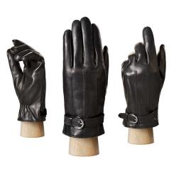 Стильные мужские перчатки из натуральной кожи черного цвета от Eleganzza, арт. IS91131 black