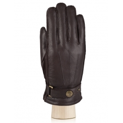 Мужские перчатки Eleganzza OS620 brown