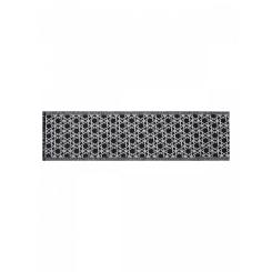 Дизайнерский мужской шарф в черно-серых тонах из шерсти и шелка от Eleganzza, арт. JG43-7619-01