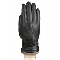 Мужские перчатки Eleganzza IS980 black/d.grey