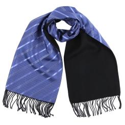 Стильный мужской шарф на шерстяной подкладке, под классический образ от Fabretti, арт. CIMG7553-1