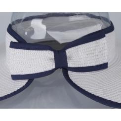 Шляпа от итальянского бренда белого цвета от Fabretti, арт. GL35-4 white