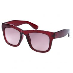 Классические мужские солнцезащитные очки с оправой и стеклами бордового цвета от Fabretti, арт. J174517-2G