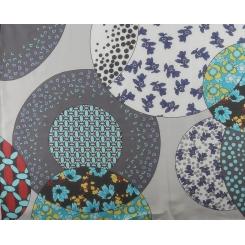 Модный и практичный шарф серого цвета, модель для женщин от Fabretti, арт. KE151601-1