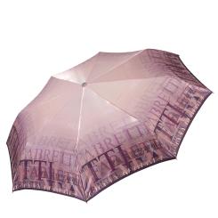 Автоматический облегченный зонт с куполом из сатина, с системой антиветер от Fabretti, арт. L-17100-3
