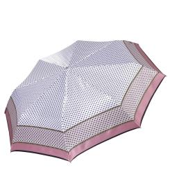 Автоматический зонт с облегченной конструкцией и сатиновым куполом от Fabretti, арт. L-17100-7