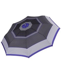 Автоматический зонт с ультра легкой конструкцией, купол из эпонжа от Fabretti, арт. L-17105-3