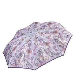 Автоматический зонт с непромокаемым куполом из эпонжа от Fabretti, арт. L-17105-7